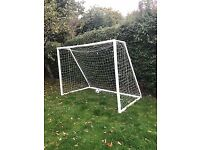 'Footie Goals . com' football goal, Great condition, Ready to Sell ASAP