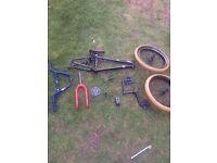 CUSTOM BMX PARTS WETHEPEOPLE ECLAT ETC