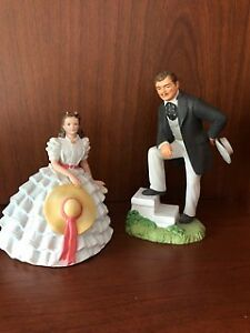 Scarlett O'Hara & Rhett Butler Figurines from Gone With The Wind