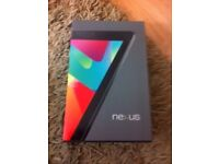 Google Nexus 7 Tablet Boxed