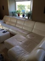 Leather Sectional from Mobilia