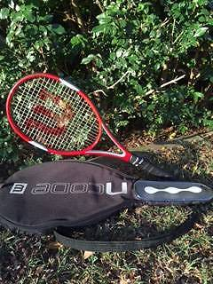 Wilson NCode red tennis racquet Taringa Brisbane South West Preview