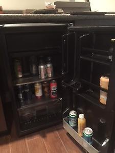 Bar fridge - Sanyo - Stainless Steel