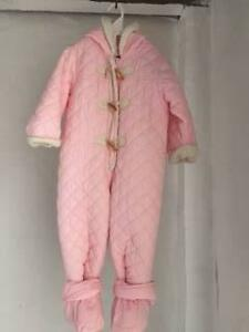 PINK SNOW SKI SUIT TOMMY HILFIGER (18-24MTHS) Mudgeeraba Gold Coast South Preview