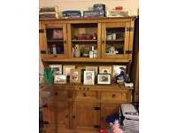 Mexican Pine Wall Unit for Sale (Collection Only)