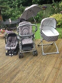Mamas and papas pushchair/travel system