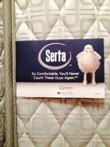 Twin Serta Camari Pillowtop Mattress