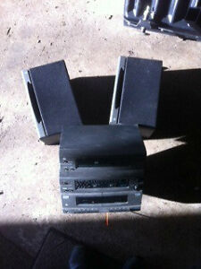 Stereo with speakers Strathcona County Edmonton Area image 1