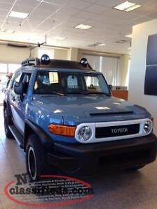 2014 Toyota FJ Cruiser Trail Teams