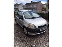Toyota Yaris GS. *Perfect First Car* - Low mileage, low insurance costs and cheap to run.
