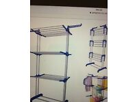 MultiWare Foldable 3 Layer Tier Clothes Airer