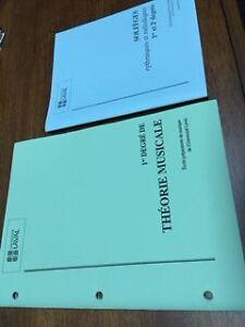 livre de théorie musicale et de solfège, cahier 1, univ. Laval
