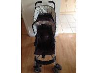 Double Pram/Stroller/pushchair/buggy