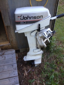 8 HP Johnson outboard