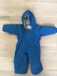 MEC Toaster Bunting Suit Size 12 months
