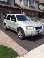 2004 Ford Escape Limited SUV - Priced to Sell