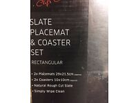Slate Placemats & Coasters x 10