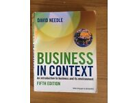 Business In Context 5th Edition