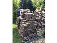 FREE Used block pavers