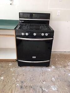 Frigidaire Gas Range, Maytag Dishwasher & Range Hood
