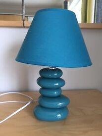 Side lamp - Teal Blue