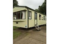 Static caravan for sale sited at Haggerston Castle
