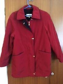 For Sale - Ladies warm Autumn/Winter jacket/coat. Size 10. EWM. VGC.