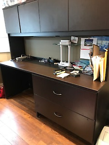High Quality Office Desk with matching filing cabinet