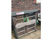 Large Guinea Pig Hutch, 2 Storey, with fitted cover
