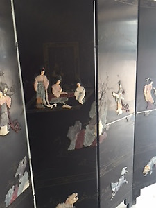 Chinese screen - handcrafted