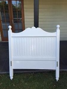 King Single Bedhead (White) Grange Brisbane North West Preview