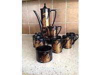 Portmerion Coffee Set