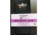 1 ticket for Goodwood Festival of Speed Saturday 14th July 2018