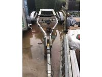 American escort boat trailer hydralic brakes
