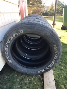 "Four 20"" Good Year Truck tires for sale"