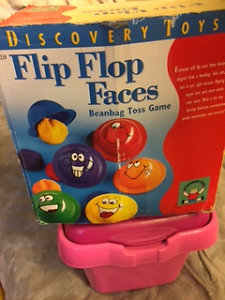 Discovery Toys - Flip Flop Faces Beanbag Toss Game Great