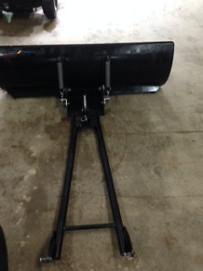 4' Wide ATV Plow and Mounting Bracket