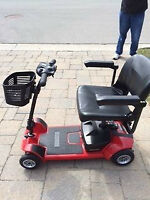 Mobility Scooter - Pride Mobility GO-GO Ultra X Four- wheel Watc