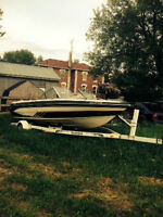 19.5 Glastron Boat to trade for car
