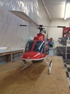 Trade two Vario helicopters