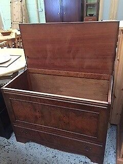 Dark Wood Chest at Cambridge Re-Use (reuse)