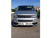 VW Transporter T5 2009 with facelift.