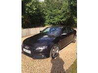 A FABULOUS LOOKING BLACK AUDI A4 TDI S LINE BLACK EDITION 4 DOOR - 2 OWNERS - 2 KEYS - NON SMOKER