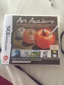 Nintendo DS art academy game