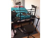 Alesis DM Lite Electronic Drums kit for sale (with stool, sticks and headphones) £200