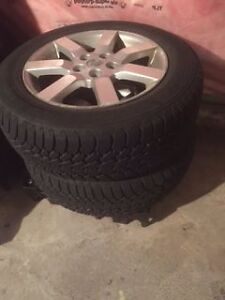 Goodyear Nordic 4 Winter Tire 225/60/17 On Alloy Rims Cornwall Ontario image 3