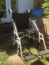 Wheelchair - lightweight portable and folding