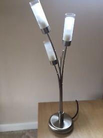 1 standard lamp and matching table lamp