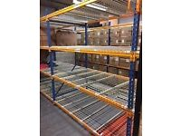 Heavy Duty Shelving / Racking x 11
