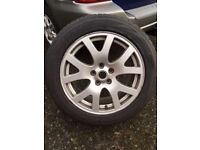 """4 x 19"""" Genuine Land Rover Ice and Snow Tyres"""